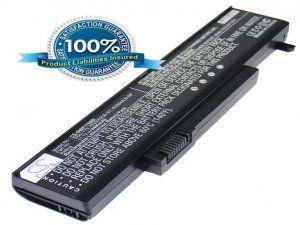 Аккумулятор для GATEWAY P170 4400mAh 11.1V черный батарея