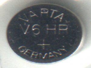 Аккумулятор Varta V6HR батарея