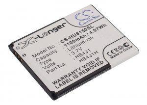 Аккумулятор совместимый HB4J1 для HUAWEI U8150 1100mAh батарея