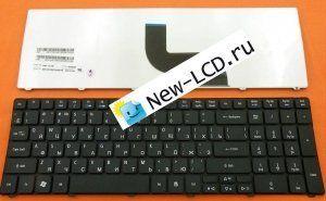 Клавиатура для ноутбука ACER ASPIRE 5741G RU черная P/N: 9Z.N1H82.C0R PK130C92A04 NSK-AL10R ALL0R 9Z.N1H82.10R AEZR7700010 KB.I170A.164 Новая Гарантия