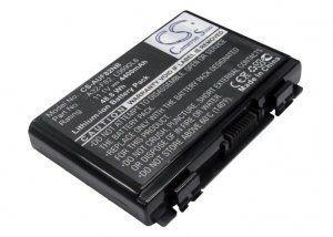 Аккумуляторная батарея ASUS K40 K50 K51 K60 K61 K70 P50 P81 F52 F82 X65 X70 X5 X8 Series аккумулятор для 11.1V 4000mAh PN: A31-F82 A32-F82 A32-F52 L0690L6 90-NVD1B1000Y в Казани
