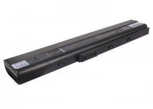 Высококачественная совместимая аккумуляторная батарея дляASUS K52 4400mAh 11.1V черная Совместима со следующими можелями: ASUS 70-NXM1B2200Z 90-NYX1B1000Y