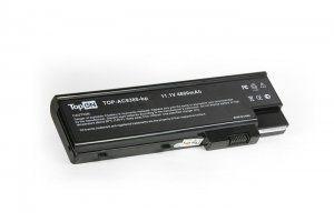 Высококачественная совместимая аккумуляторная батарея для Acer Aspire 3661WLMi 4800mAh 11.1V черная Совместимые артикулы: UR18650F-2-QC218 LC.BTP01.013 LC