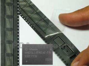 Увеличение памяти с 64MB до 128MB (2xHYB25L512160AC-7.5)
