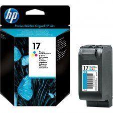 Оригинальный струйный картридж HP 17, трехцветный (C6625A)