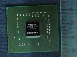 Микросхема nVIDIA GF-GO7200-B-N-A3