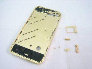 Средняя часть корпуса iPhone 4 золото Бесплатная доставка Почтой России для частных клиентов! Новая 24-07-2018