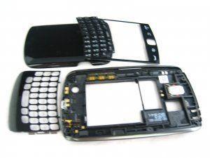 Корпус Blackberry Curve 9350/9360/9370 черный (оригинал) Бесплатная доставка Почтой России для частных клиентов! 24-07-2018