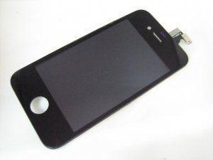 Дисплей (экран) iPhone 4 включая тачскрин и черное защитное стекло Бесплатная доставка Почтой России для частных клиентов! Новый 24-07-2018