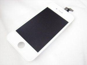 Дисплей (экран) iPhone 4 включая тачскрин и белое защитное стекло Бесплатная доставка Почтой России для частных клиентов! Новый 24-07-2018