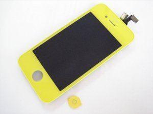 Дисплей iPhone 4 включая тачскрин и желтое защитное стекло Бесплатная доставка Почтой России для частных клиентов! Новый 23-07-2018