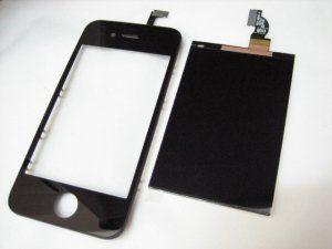 Дисплей iPhone 4 включая тачскрин и черное защитное стекло Бесплатная доставка Почтой России для частных клиентов! Новое 23-07-2018