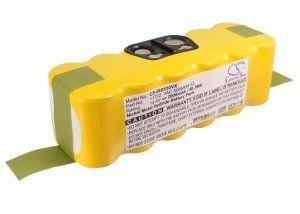 Высококачественная совместимая аккумуляторная батарея 11702 для iRobot Roomba 500 14.4V 2500mAh Совместима со следующими моделями: IROBOT 11702 GD-Roomba-500