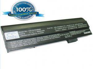 Аккумулятор для Fujitsu-Siemens Amilo A1640 6600mAh 11.1V серый батарея