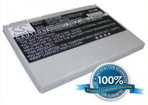 Аккумулятор для Apple PowerBook G4 17 5400mAh 10.8V серебристый батарея
