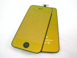 Дисплей iPhone 4 Verizon включая тачскрин (сенсорное стекло), зеркально-золотое защитное стекло и заднюю крышку Бесплатная доставка Почтой России для
