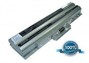 Высококачественная совместимая аккумуляторная батарея для Sony VGP-BPS21 4400mAh 11.1V серебристая Совместима со следующими моделями: SONY VGP-BPS21 VGP-BPS21A