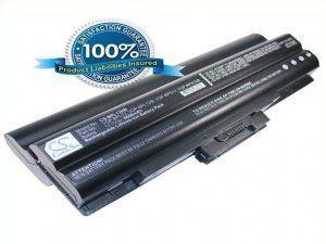 Высококачественная совместимая аккумуляторная батарея для Sony VGP-BPL13 6600mAh 11.1V черная Совместим со следующими моделями: SONY VGP-BPL13 VGP-BPS13