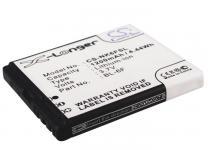 Высококачественная совместимая аккумуляторная батарея BL-6F для Nokia N78, N79, N95-2 1200mAh Совместимые артикулы: BL-6F CS-NK6FSL Новая 23-07-2018