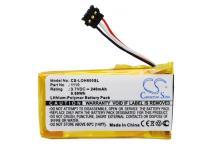 Высококачественная совместимая аккумуляторная батарея 1110 для гарнитуры Logitech Wireless Headset H600 240mAh 3.7V Совместимые артикулы: 1110 CS-LOH600SL