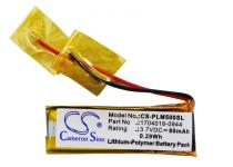 Аккумулятор 1704018-0944 для гарнитуры Plantronics M50 80mAh 3.7V (007.01215)