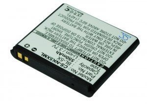 Высококачественная совместимая аккумуляторная батарея BL-5X для Nokia 8800 550mAh Совместима со следующими моделями: NOKIA BL-5X BL-6X BP-6X CS-NK5XML