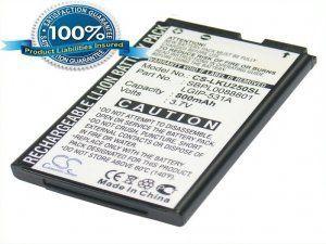Высококачественная совместимая аккумуляторная батарея повышенной ёмкости LGIP-531A для LG KU250 800mAh Совместима со следующими моделями: LG LGIP-531A