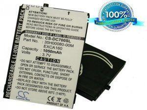 Аккумулятор EXCA160 для HTC Cavalier/S620/S621 1050mAh батарея