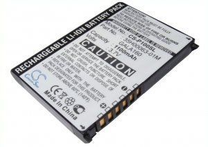 Высококачественная совместимая аккумуляторная батарея GALA160 для HTC Galaxy 1100mAh Совместима со следующими моделями: CYBERBANK GALA160 DOPOD GALA160