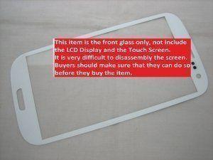 Защитное стекло Samsung Galaxy S3 III GT-i9300 белое