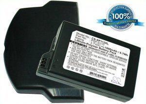 Высококачественная совместимая аккумуляторная батарея для PSP-S110 для Sony Lite 1800mAh с крышкой Совместима со следующими моделями: SONY PSP-S110 SONY