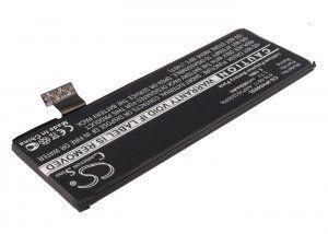 Высококачественная совместимая аккумуляторная батарея для Apple iPhone 5 1400mAh 5.32Wh Совместима со следующими моделями: APPLE 616-0611 616-0613 AAP353292PA