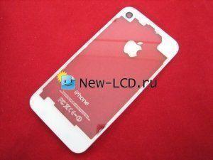 Задняя крышка iPhone 4 прозрачная белая