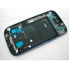 Средняя часть корпуса Samsung Galaxy S3 III GT-i9300 синяя Бесплатная доставка Почтой России для частных клиентов! Новая 15-09-2017
