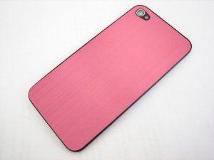 Задняя крышка iPhone 4 Metal Light Pink розовая Бесплатная доставка Почтой России для частных клиентов! Новая 21-08-2017