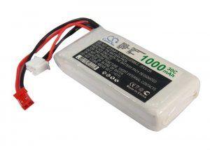 Аккумулятор для р/у игрушки 72.0x31.0x16.0мм 1000mAh 7.4V батарея
