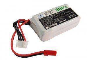 Аккумулятор для р/у игрушки 60.0x31.0x23.0мм 800mAh 11.1V батарея