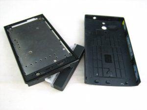 Корпус Sony Xperia U ST25i Kumquat черный