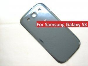 Задняя крышка Samsung Galaxy S3 III GT-i9300 синяя Pebble Blue