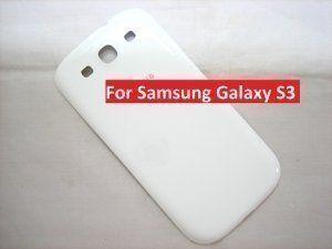 Задняя крышка Samsung Galaxy S3 III GT-i9300 белая (оригинал)
