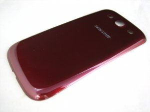 Задняя крышка Samsung Galaxy S3 III GT-i9300 красная