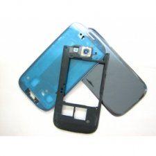 Корпус Samsung Galaxy S3 III GT-i9300 синий