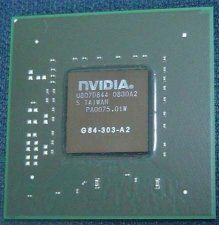 Микросхема nVIDIA G84-303-A2 чип